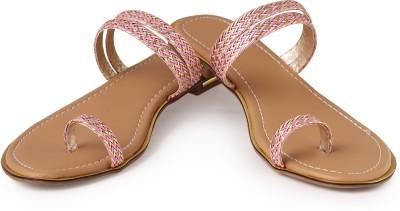 Bonzer Women Pink Flats
