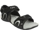 Cyke Men Black::Grey Sandals