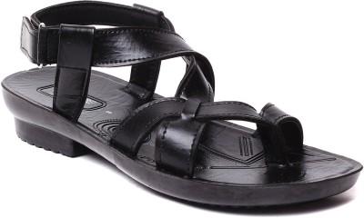 Rexona Men Black Sandals