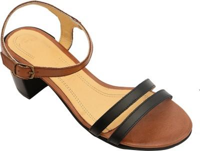 Salt N Pepper 14-146 Wendy Almond Black Women Black Heels