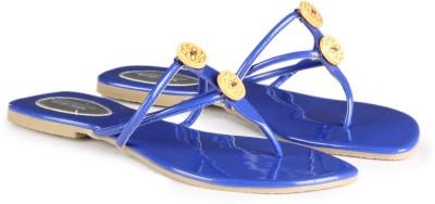 Charu- Diva Design Studio Women Blue Flats