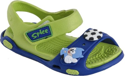 Spice Candy Baby Boys, Baby Girls Blue, Green Sandals