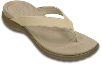 Crocs Women Beige Flats