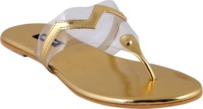 karizma shoes Women Gold Flats