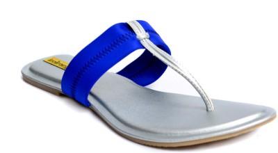 Indirang Women Blue Flats