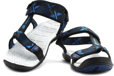 Lotto Zack Men Black, Blue Sandals
