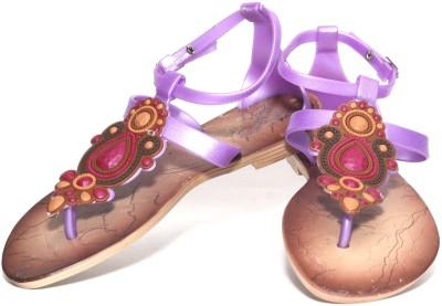 Oh Feet ! Women Purple Flats