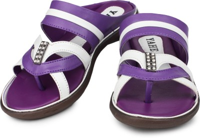 YAHE Women Purple Flats
