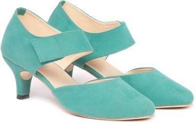 TEN Women Green Heels