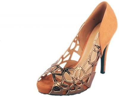 Moda Brasil Women Camel Heels
