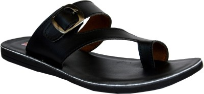 Flux Men Black Sandals
