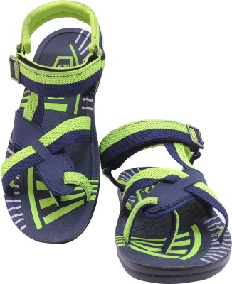 Floxtar Men Blue, Green Sandals