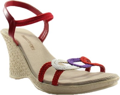 PAWAR Women Red Heels