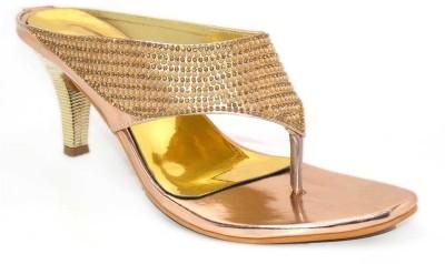 Aleg Women Gold Heels