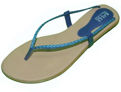 Kally Women Blue Flats