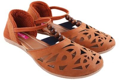 Vinayak Collection Women Brown Flats