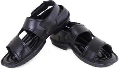 FBT Men Black Sandals
