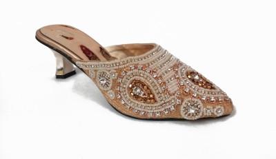 RAS Women Gold Heels