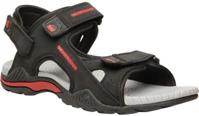 WeinBrenner Men Black Sandals