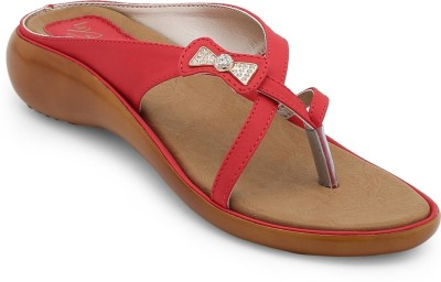 La Briza Women Red Flats