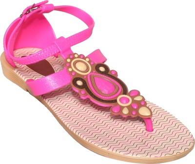 BABA ENTERPRISES Girls Pink Flats