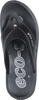 Ecosoft Men Black Sandals