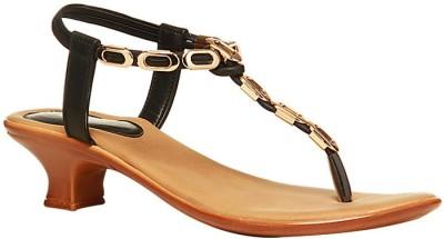 Bata Women Black Heels