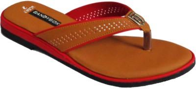 CANDYBOX Women Tan Flats