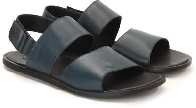 U.S. Polo Assn. Men Black, Navy Sandals