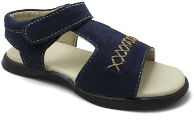 PHEDARUS Boys Navy Sandals