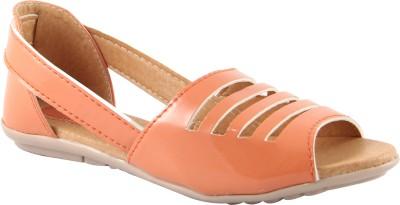 Cute Fashion Women Orange Flats