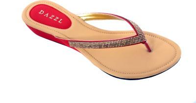 Dazzl Women Red Wedges