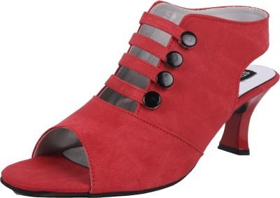 Style Her Women Red Heels
