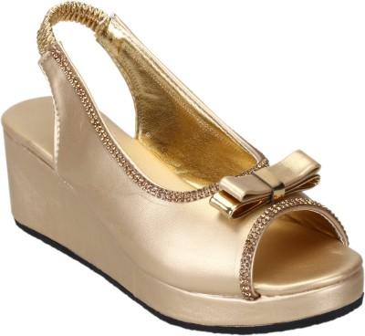 CatBird Girls Gold Sandals