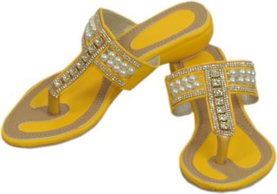 Styleon India Women Yellow Wedges