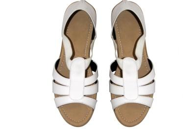 Mellofic Girls White Flats