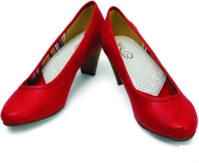 La Briza Claudia Women Red Heels