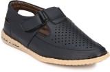 Shoe Smith Men Blue Sandals