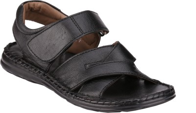 Menz WP-06 Men Black Sandals