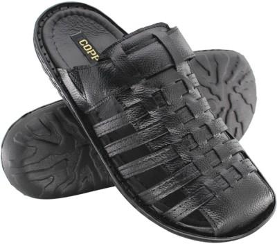 Copper C-8012 Men Black Sandals