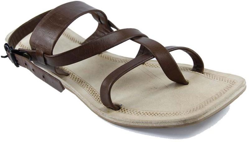 Ekolhapuri Women Brown Sandals