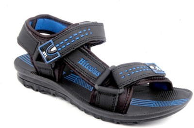 Hitcolus Hitcolus PU Blue Sandal Men Blue, Black Sandals