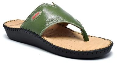 Canthari Ortho Women Green Flats