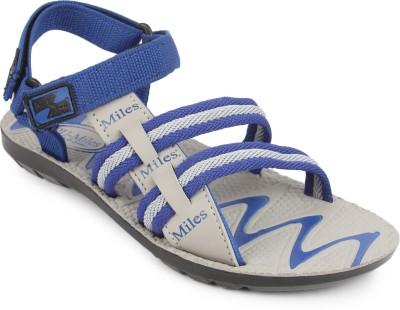 Gowell Boys Blue, Grey Sandals