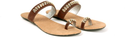 Twee Broer Women Brown Flats