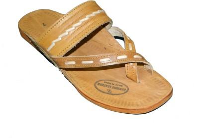 Kolapuri Center Kolhapuri Gandhi Men Tan Sandals
