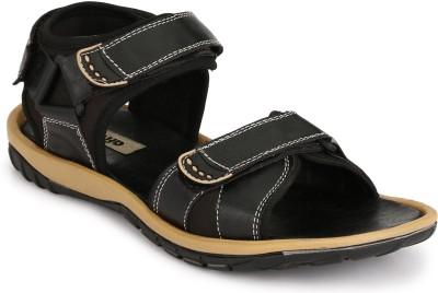 Afrojack Men Black Sandals