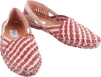 Fagik Men Red, Natural Sandals