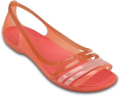Crocs Women Pink Flats