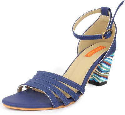 Cara Mia Women Blue Heels